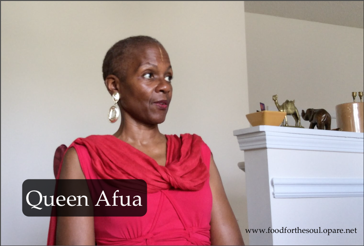 Black Vegetarian: Queen Afua Part 1 - Food For The Soul